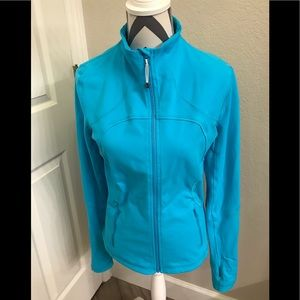 Lululemon Zip Jacket Blue